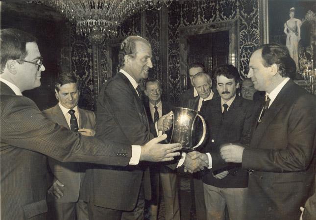 Juan Carlos I, Copa del Rey en Potes
