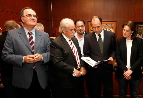 Intervención acto presentación del libro del centenario de la cámara de comercio e industria de Torrelavega